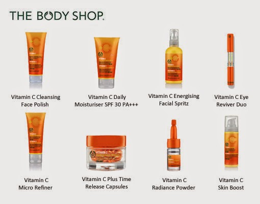 Vitamin c facial lotions