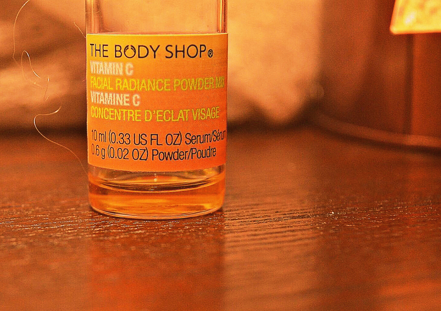 img 8441 - Vitamin C Skin Care Body Shop Review