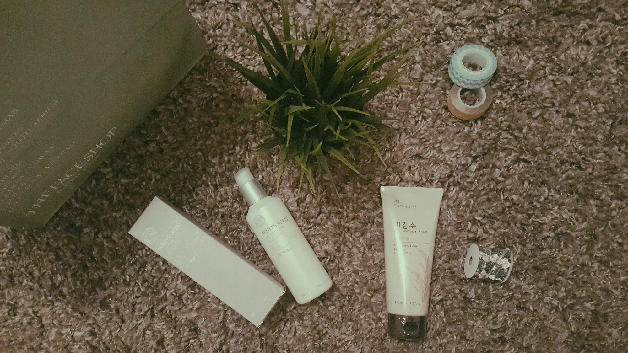 wp image 870141703jpg - 3-Item THEFACESHOP Haul Review! (WHITE SEED Brightening Toner, RICE WATER BRIGHT Cleansing Foam & Magic Cover BB Cream)