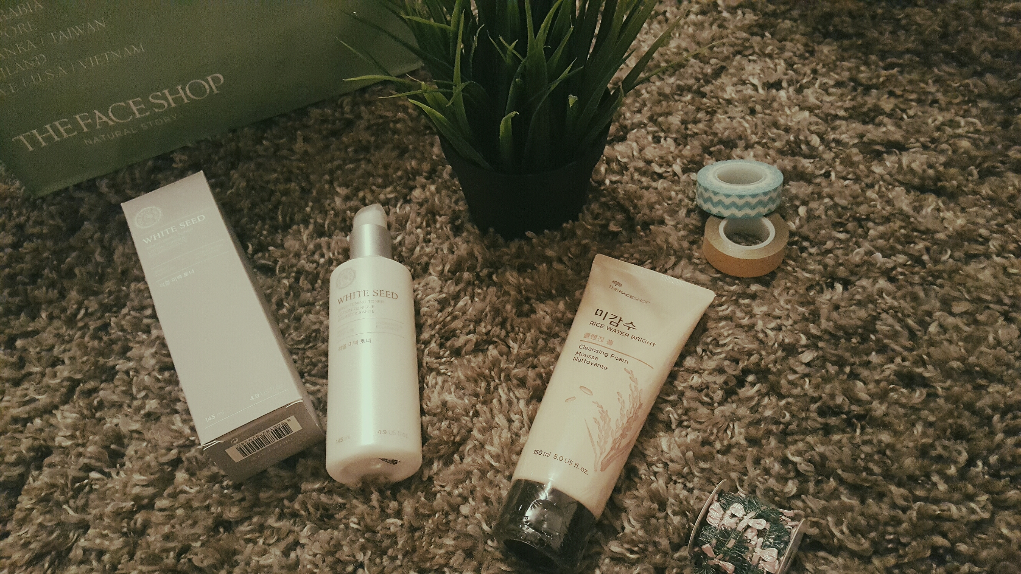 wp image 982137083jpg - 3-Item THEFACESHOP Haul Review! (WHITE SEED Brightening Toner, RICE WATER BRIGHT Cleansing Foam & Magic Cover BB Cream)