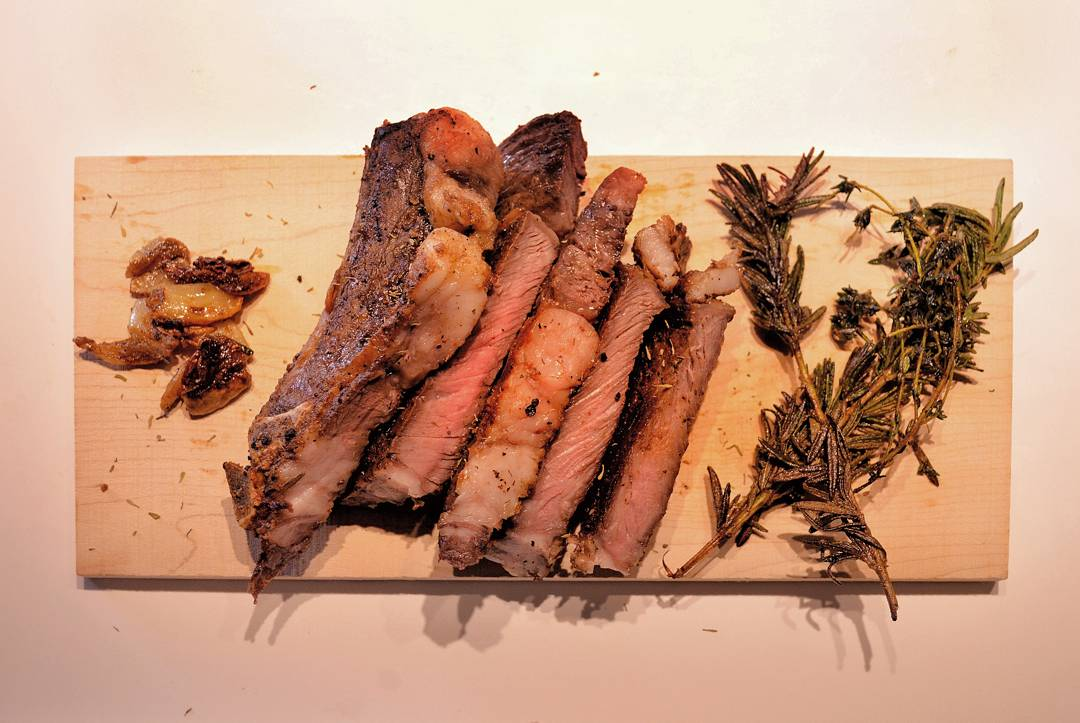 wp 1487199160820 - Rosemary Garlic Butter Steak